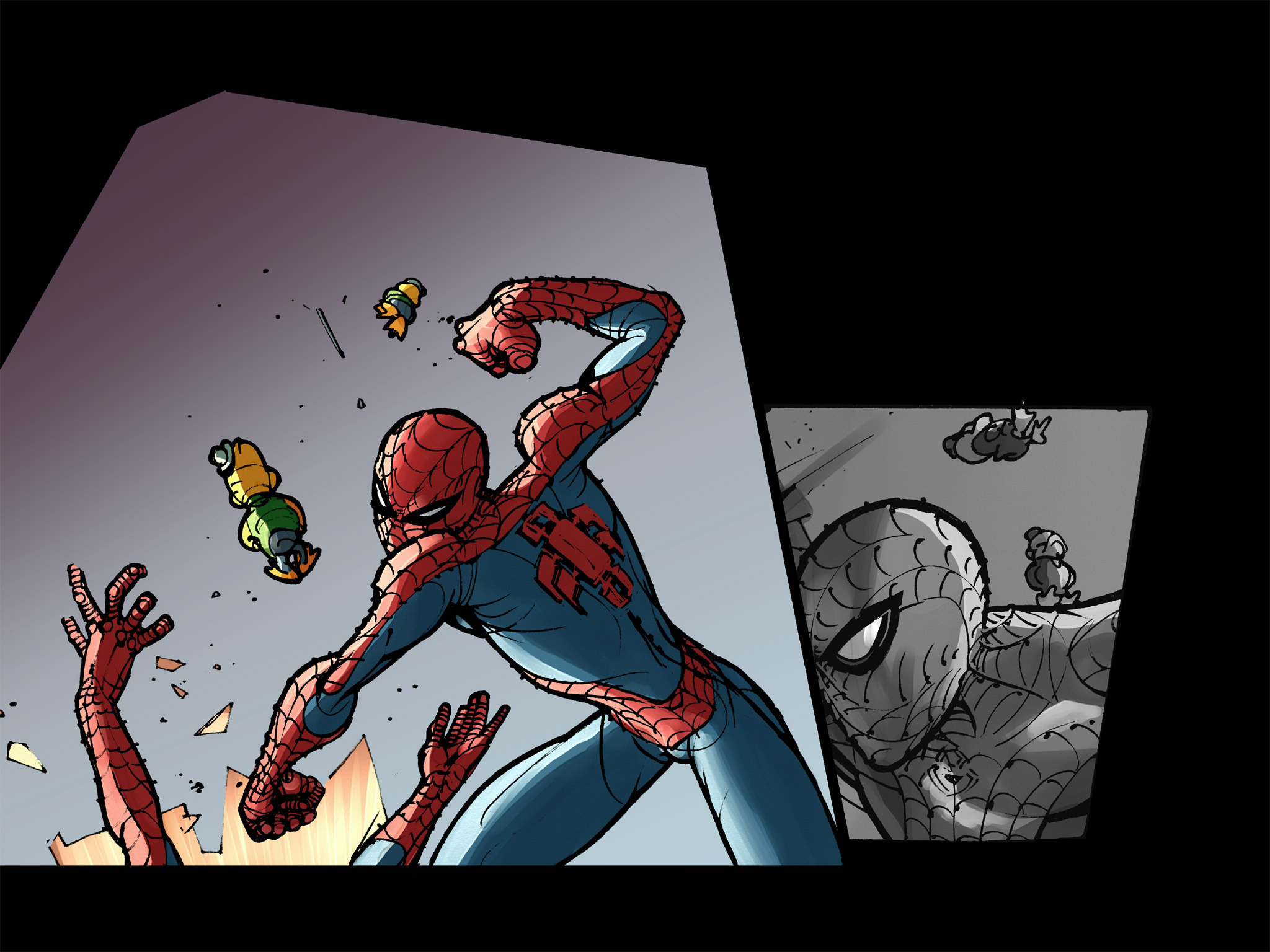 Read online Amazing Spider-Man: Who Am I? comic -  Issue # Full (Part 2) - 144