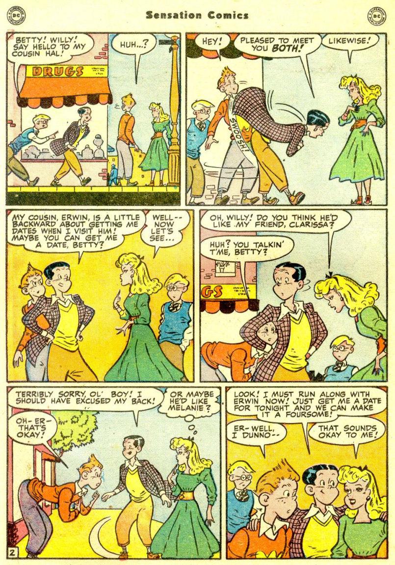 Read online Sensation (Mystery) Comics comic -  Issue #77 - 34