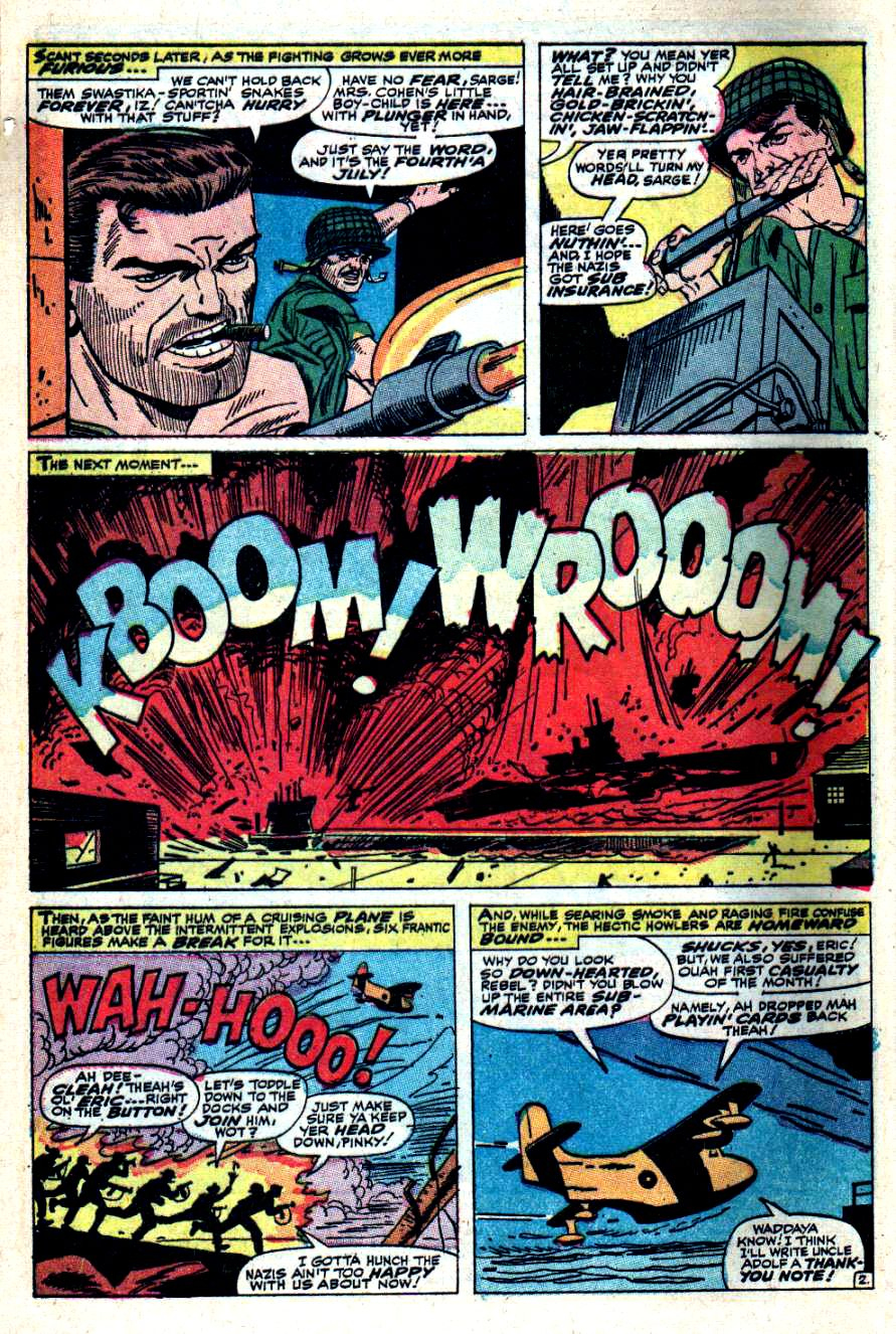 Read online Sgt. Fury comic -  Issue #41 - 4