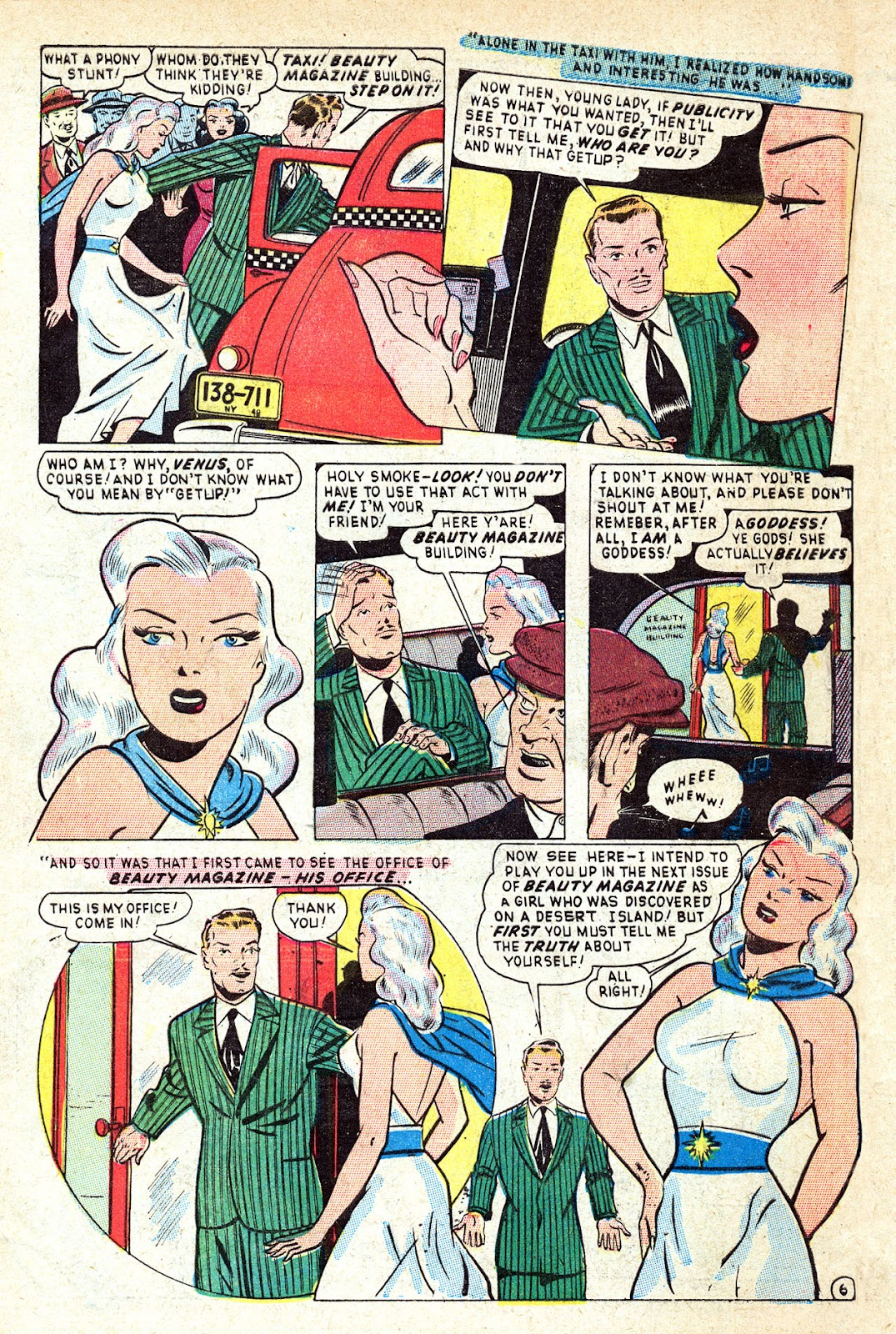Venus (1948) issue 1 - Page 8