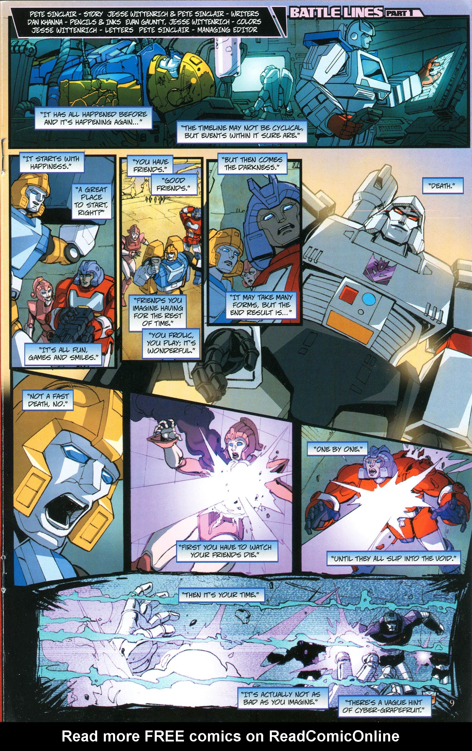 Read online Transformers: Collectors' Club comic -  Issue #37 - 9