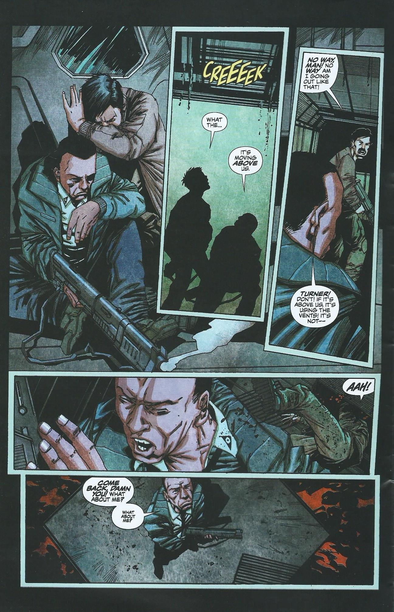 Read online Alien: Isolation comic -  Issue # Full - 7