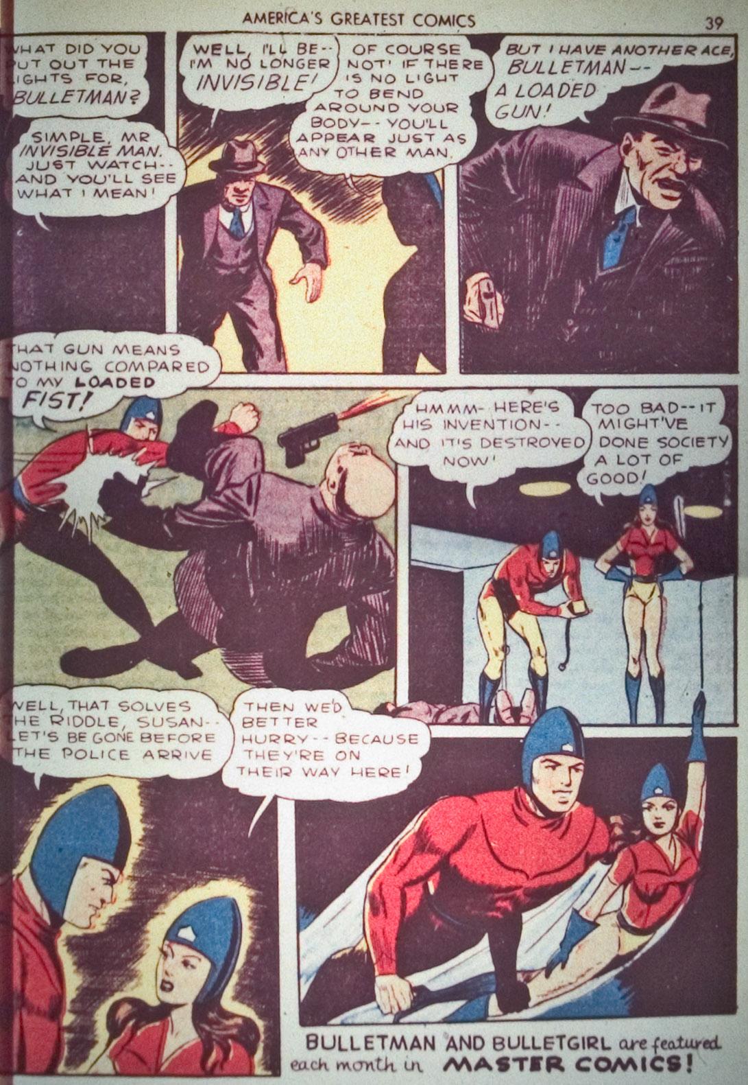 Read online America's Greatest Comics comic -  Issue #1 - 42