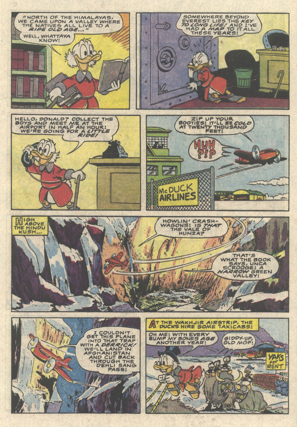 Read online Uncle Scrooge (1953) comic -  Issue #216 - 5