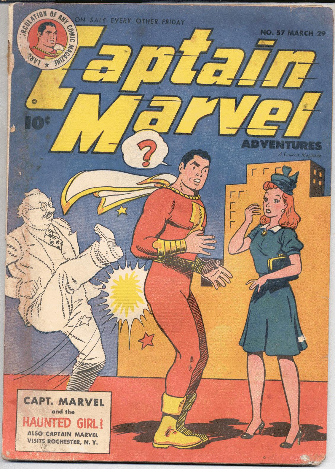Captain Marvel Adventures 57 Page 1