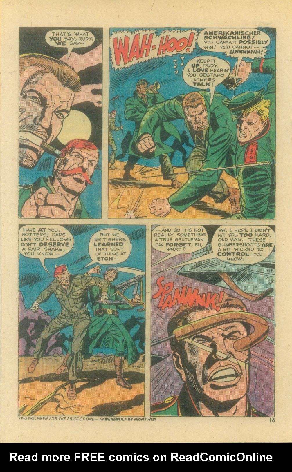 Read online Sgt. Fury comic -  Issue #119 - 18