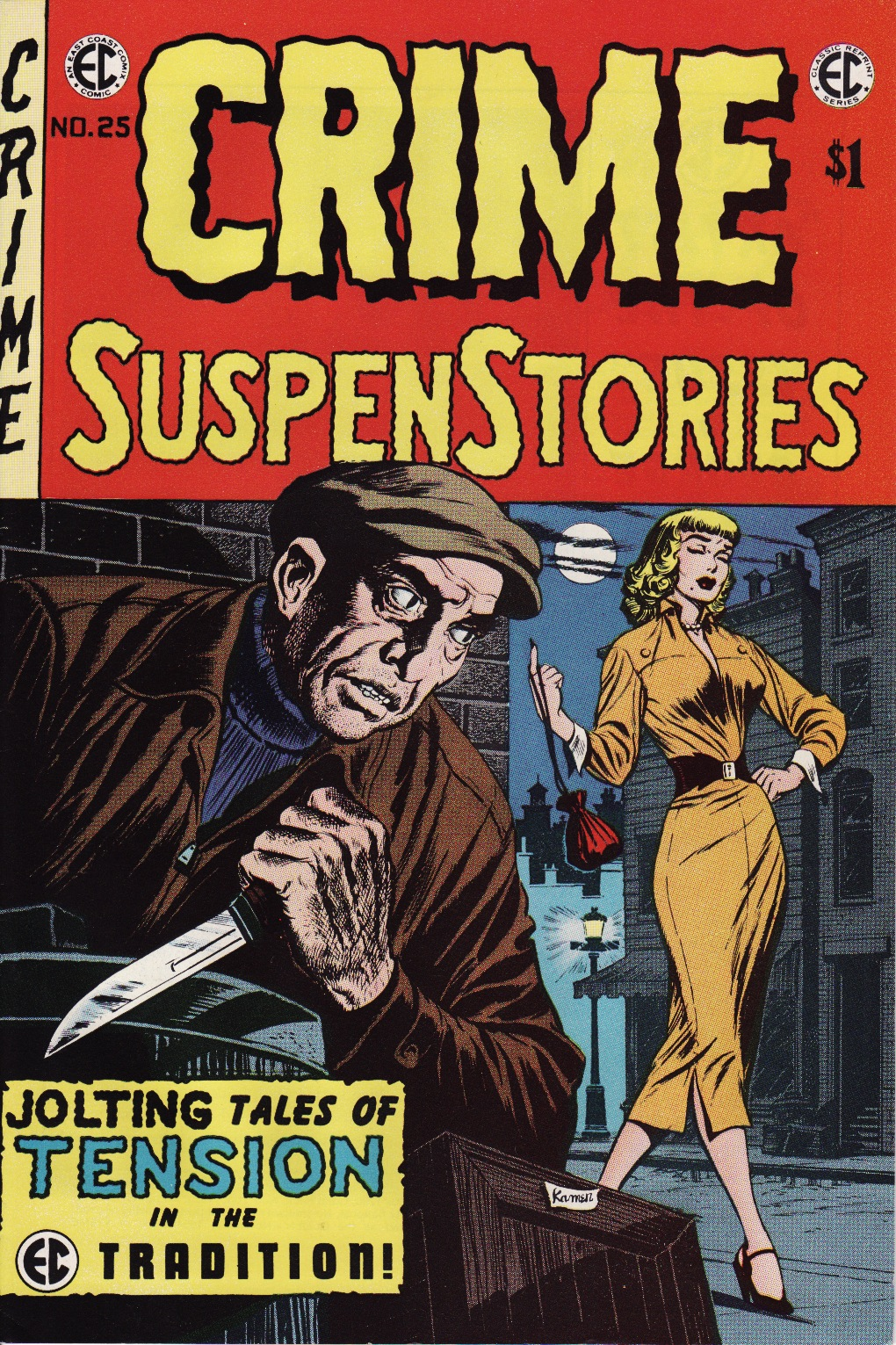 Crime SuspenStories 25 Page 1