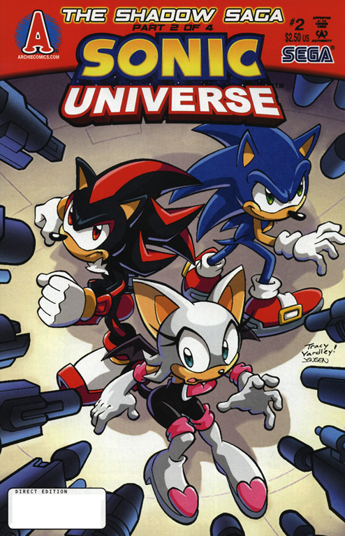 Read online Sonic Universe comic -  Issue #2 - 1