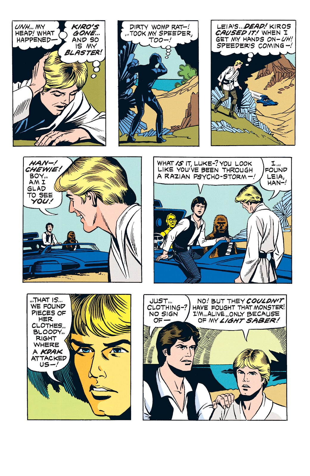 Read online Star Wars Legends: The Newspaper Strips - Epic Collection comic -  Issue # TPB (Part 3) - 41