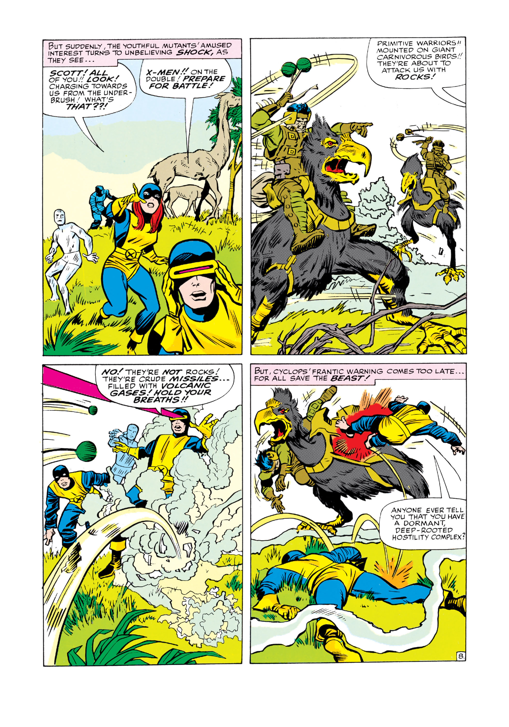 Read online Uncanny X-Men (1963) comic -  Issue #10 - 9