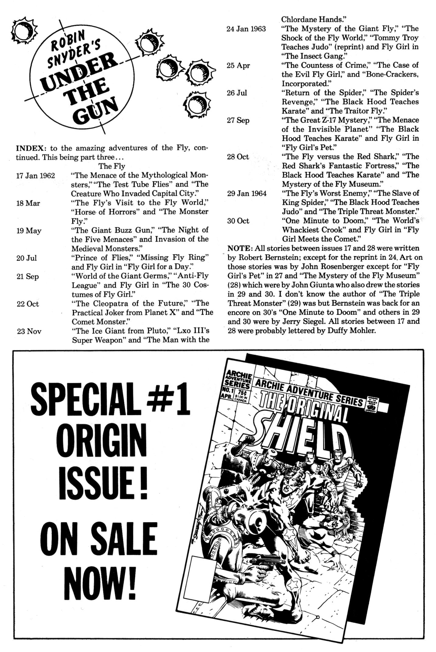 Read online The Fly (1983) comic -  Issue #6 - 2