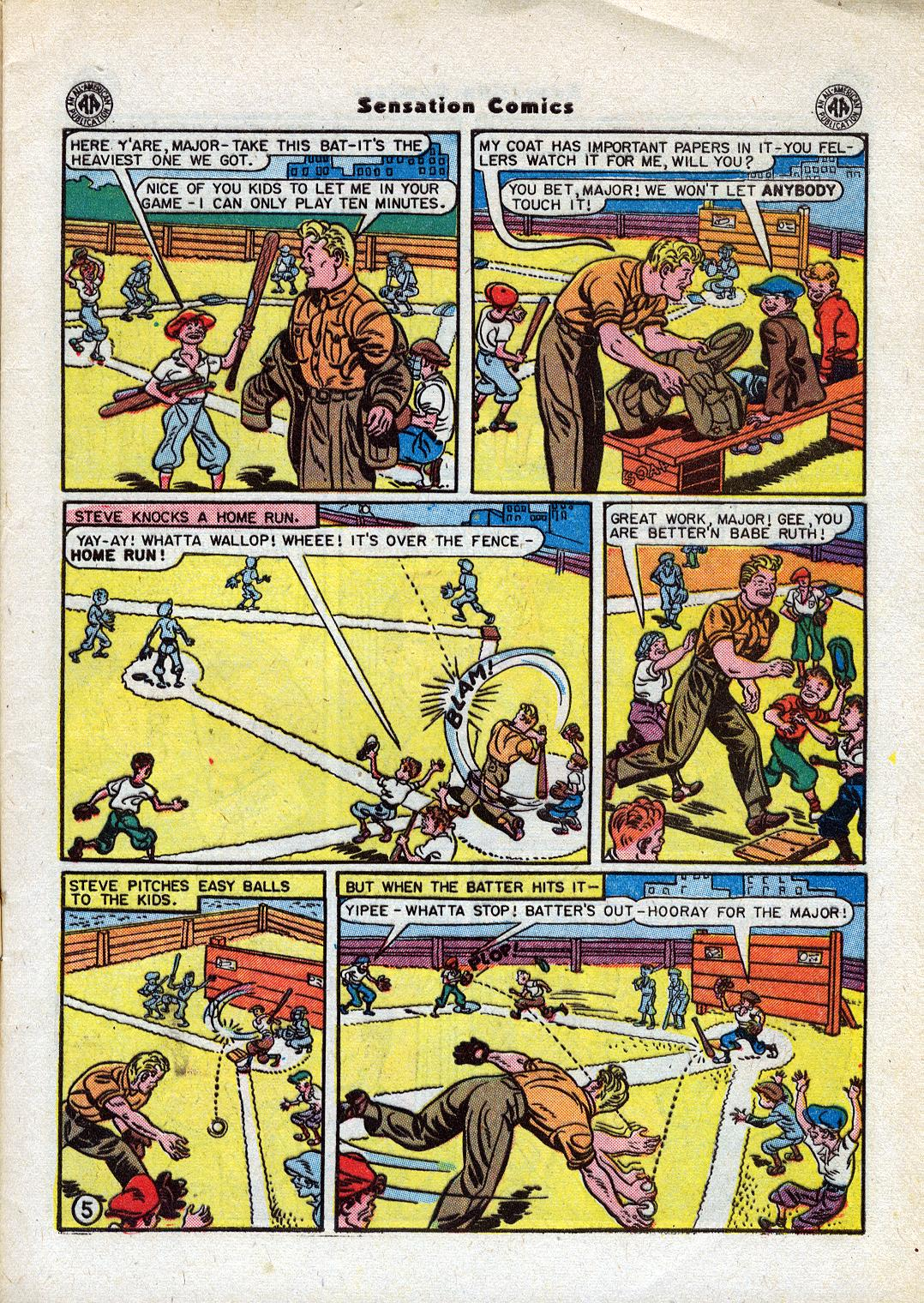 Read online Sensation (Mystery) Comics comic -  Issue #44 - 7