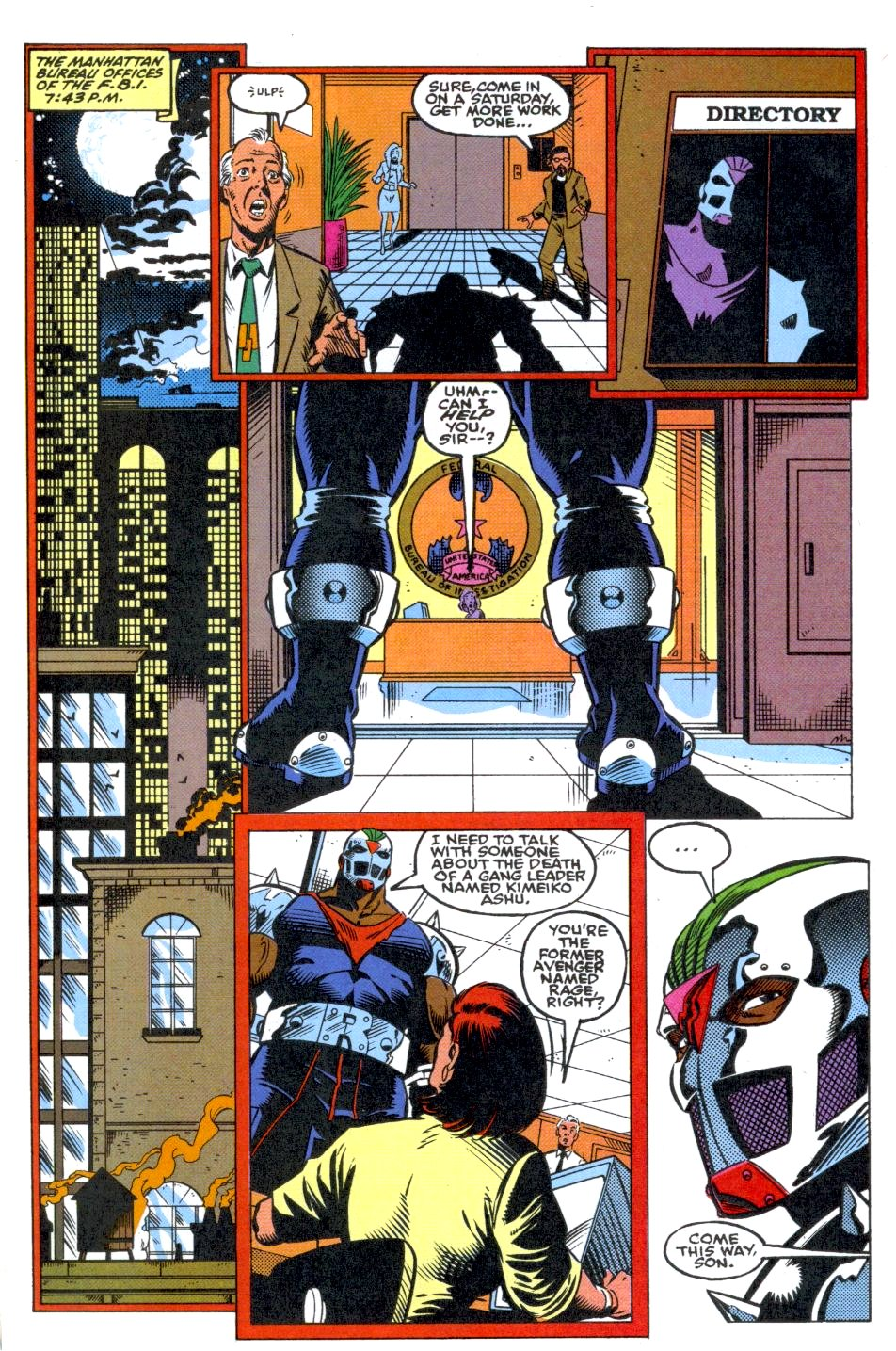The New Warriors Issue #39 #43 - English 18