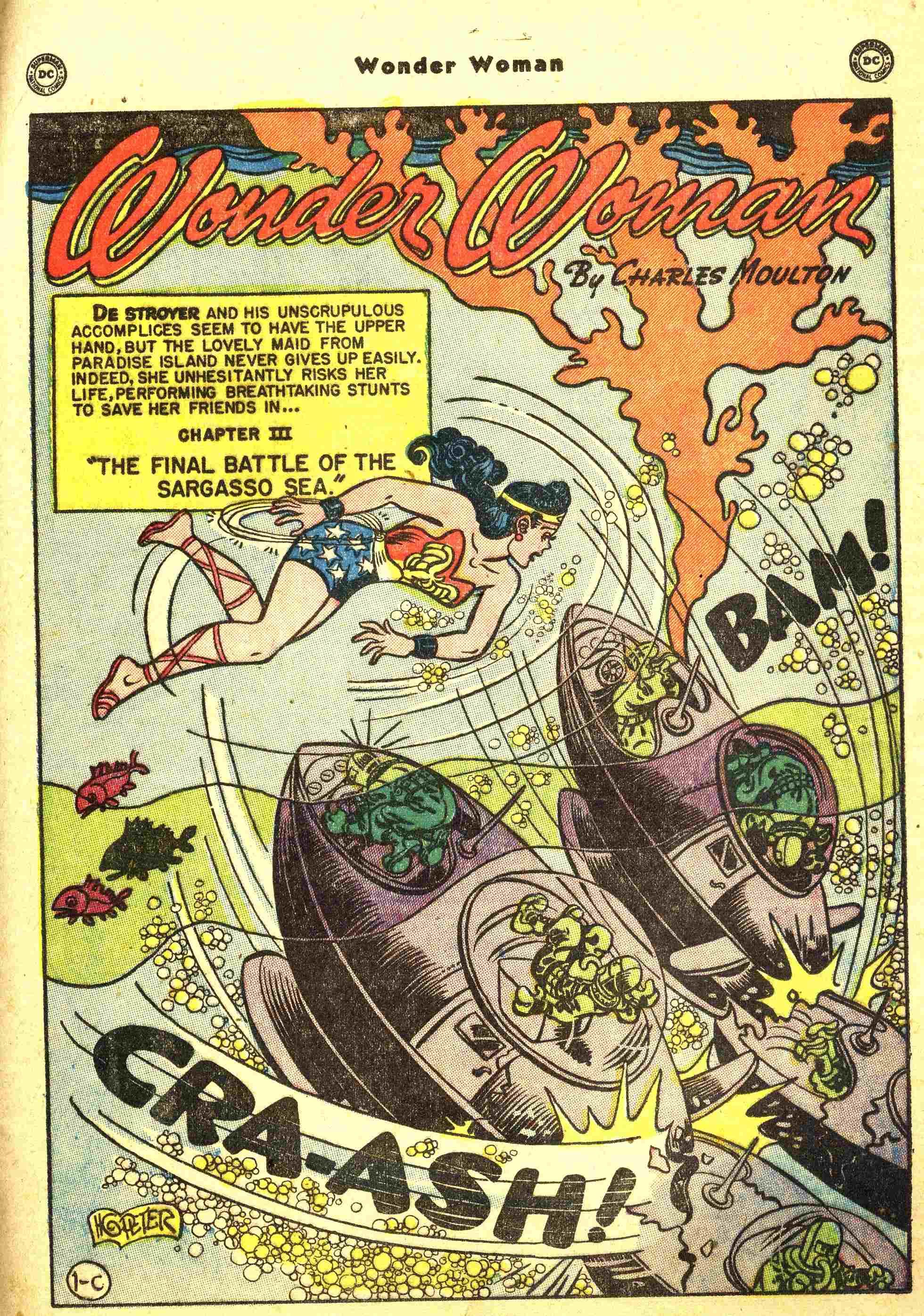 Read online Wonder Woman (1942) comic -  Issue #44 - 26