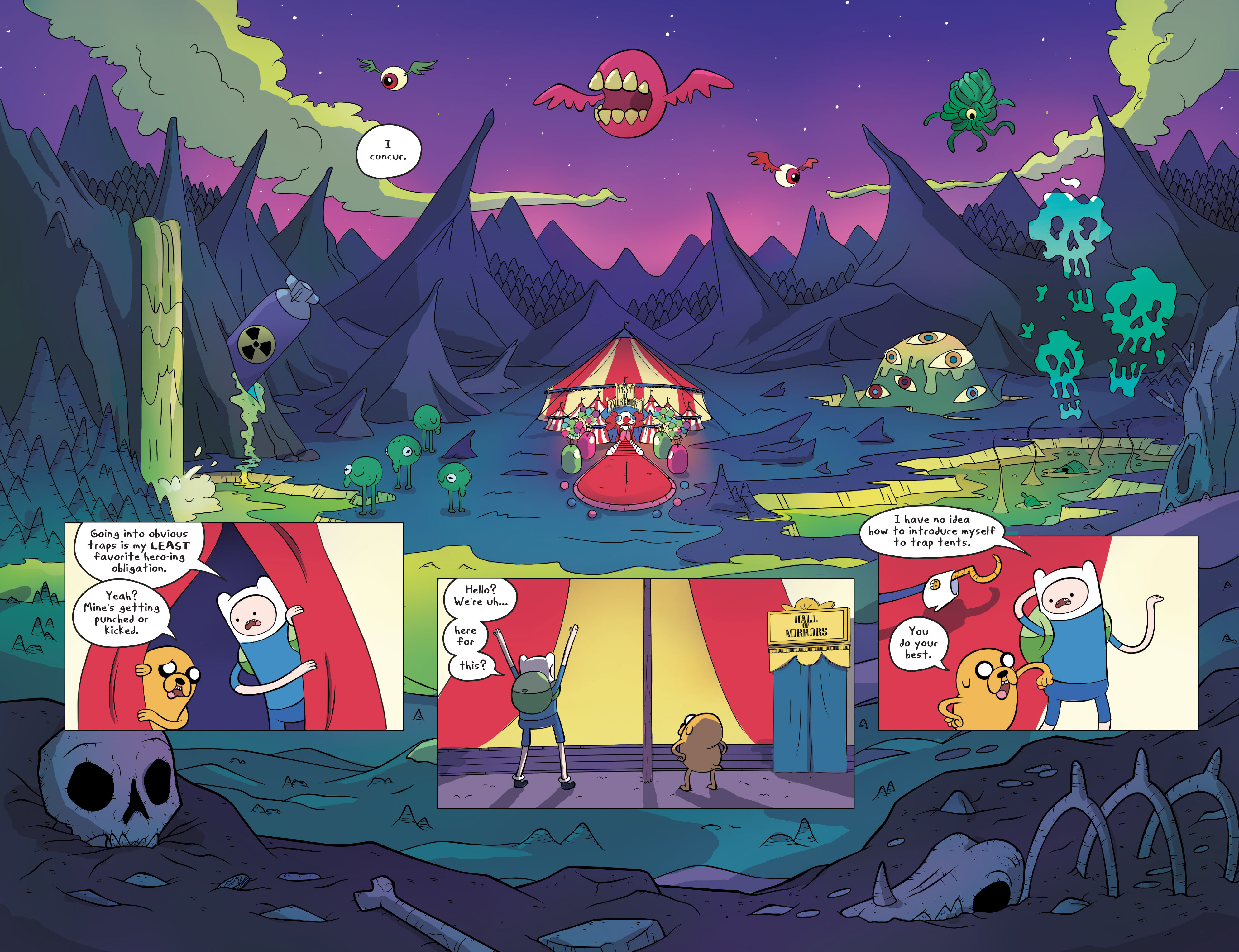 Read online Adventure Time comic -  Issue #45 - 4