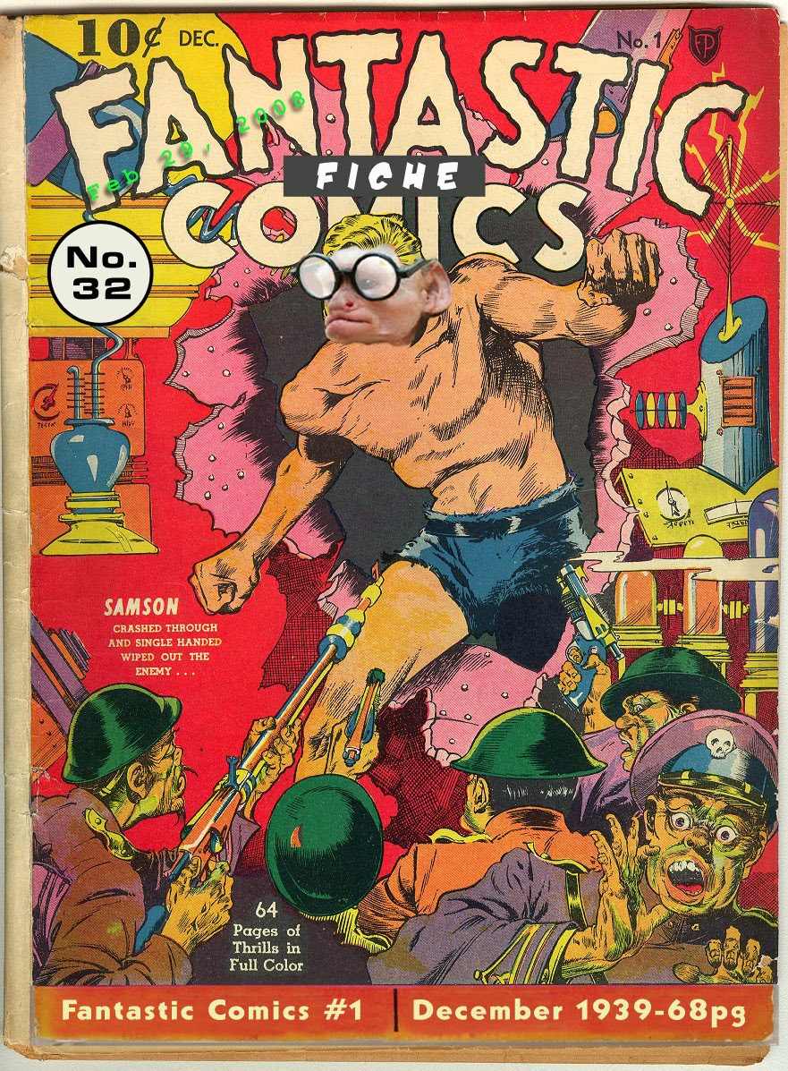 Fantastic Comics 1 Page 1