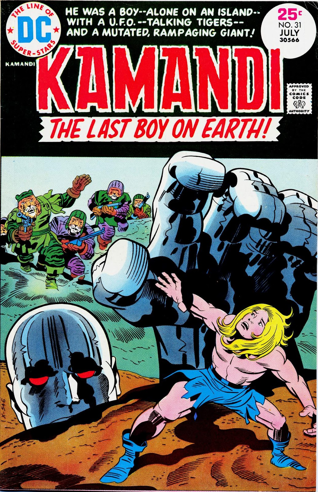 Kamandi, The Last Boy On Earth issue 31 - Page 1