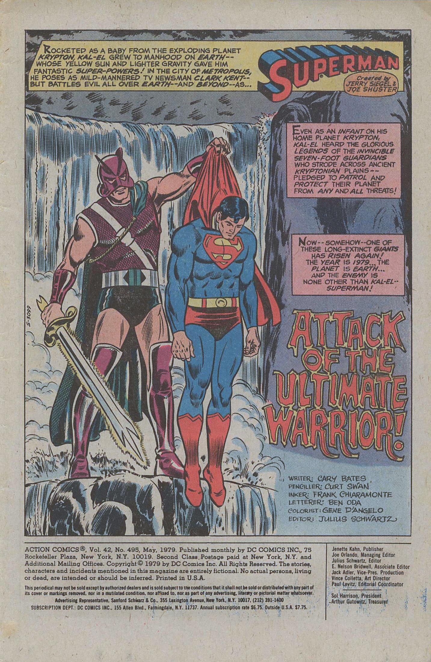 Action Comics (1938) 495 Page 2