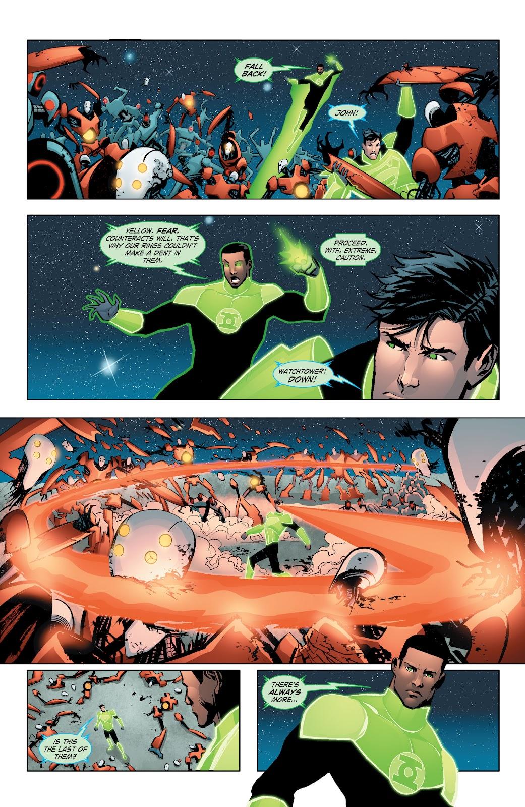 Read online Smallville Season 11 [II] comic -  Issue # TPB 7 - 56