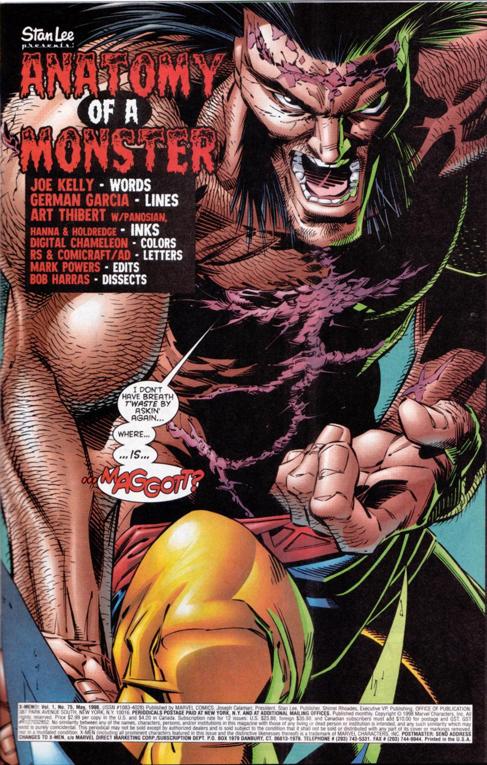 X-Men (1991) 75 Page 1