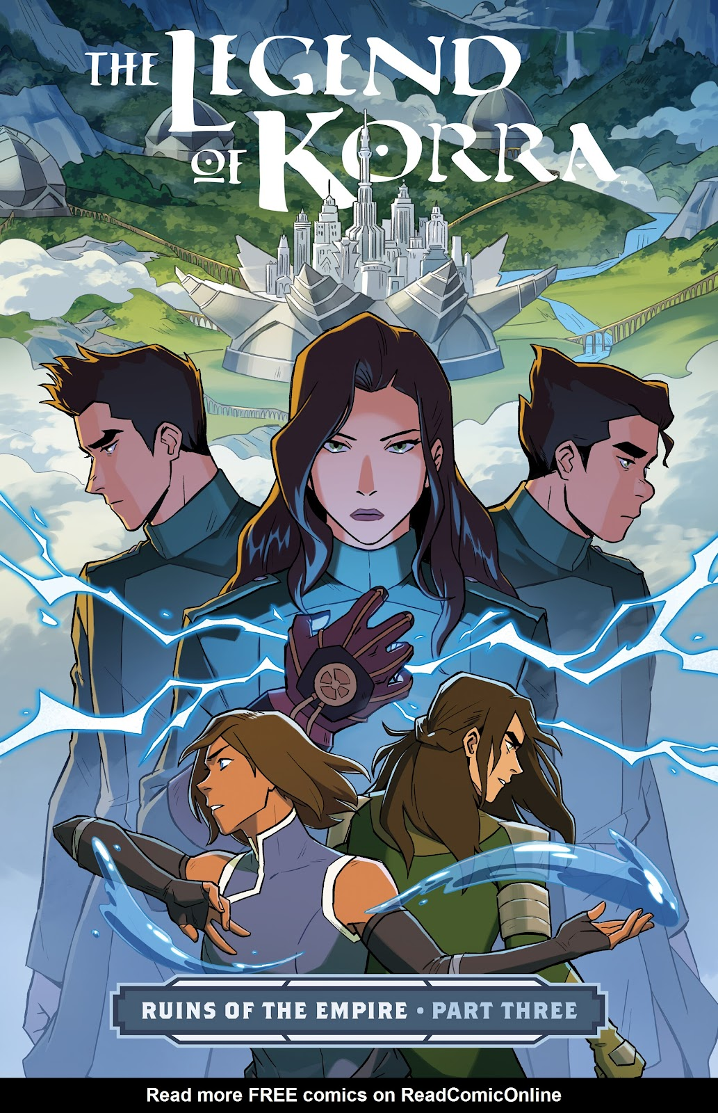 Nickelodeon The Legend of Korra: Ruins of the Empire issue TPB_3 - Page 1