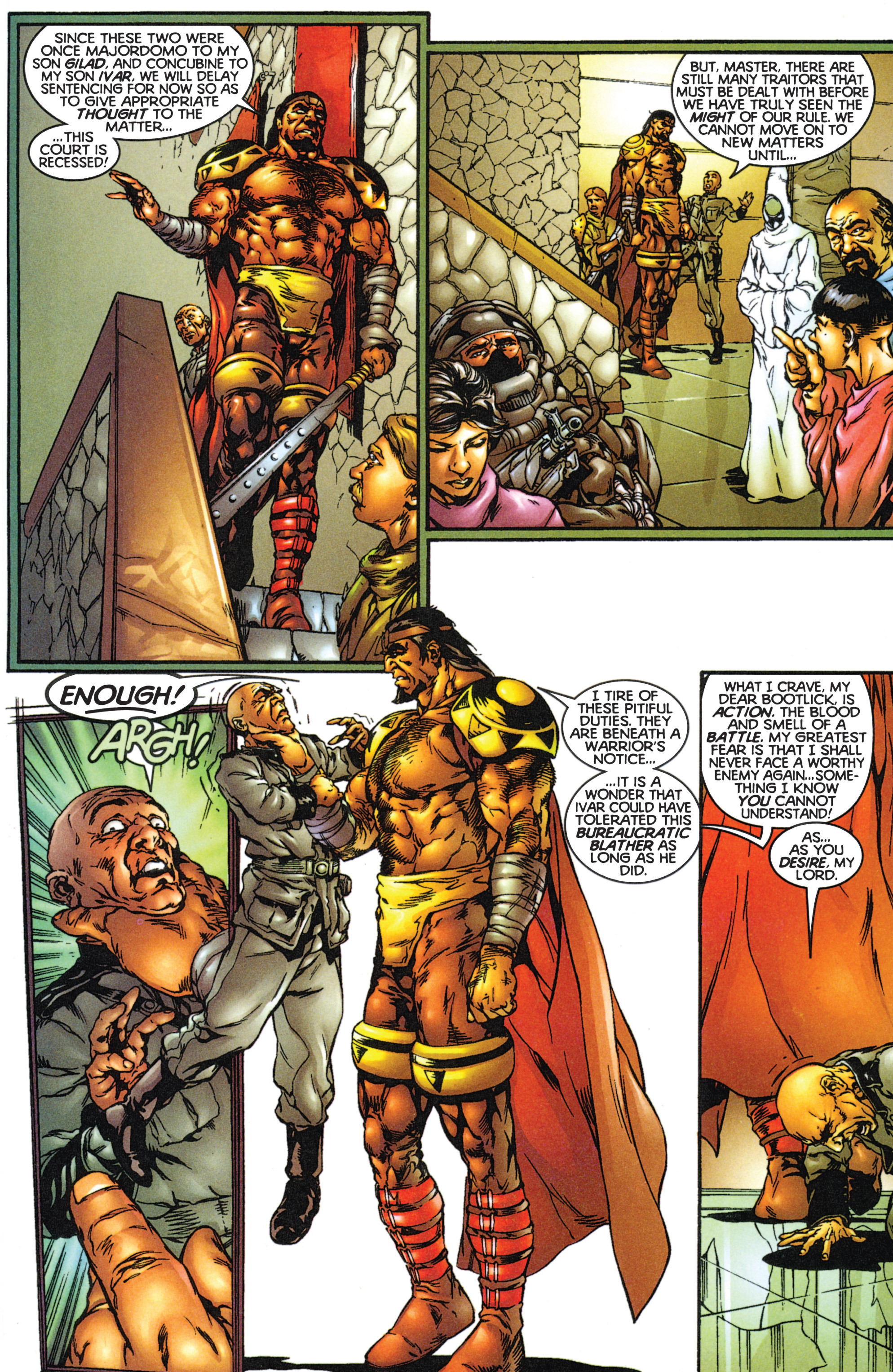 Read online Eternal Warriors comic -  Issue # Issue The Immortal Enemy - 4