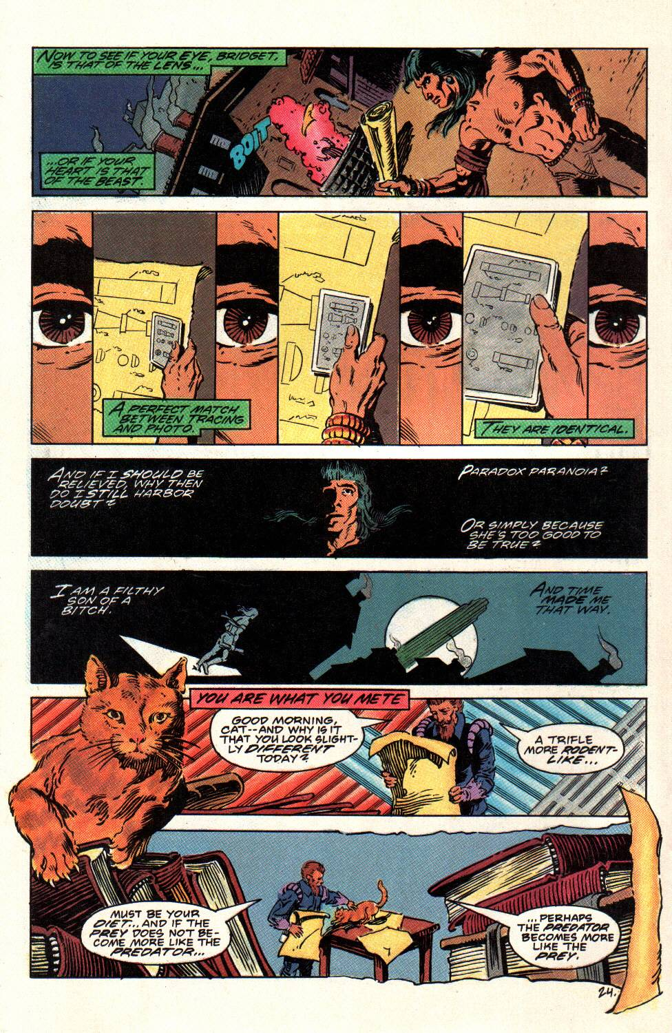 Read online Aztec Ace comic -  Issue #8 - 25