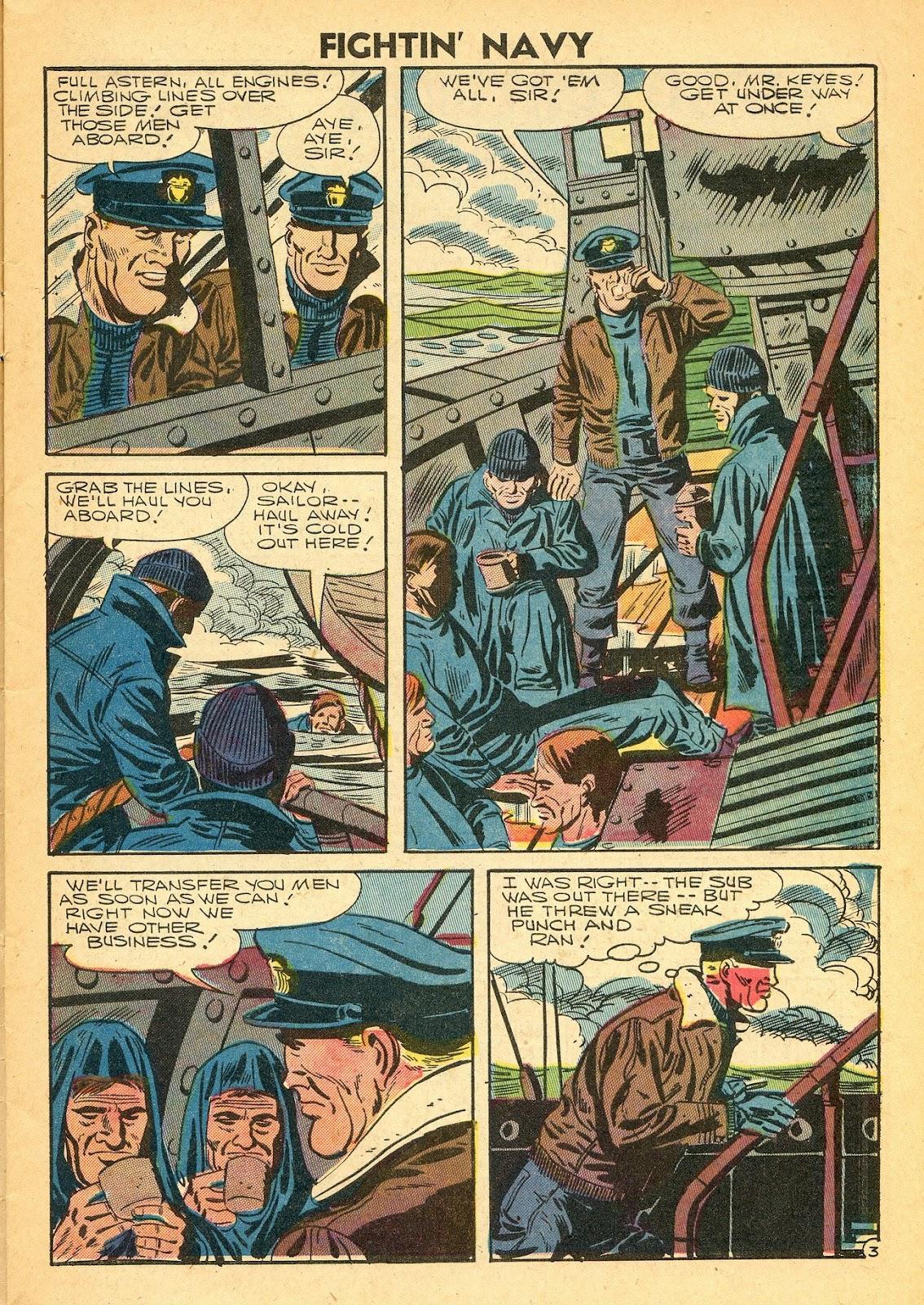 Read online Fightin' Navy comic -  Issue #77 - 5