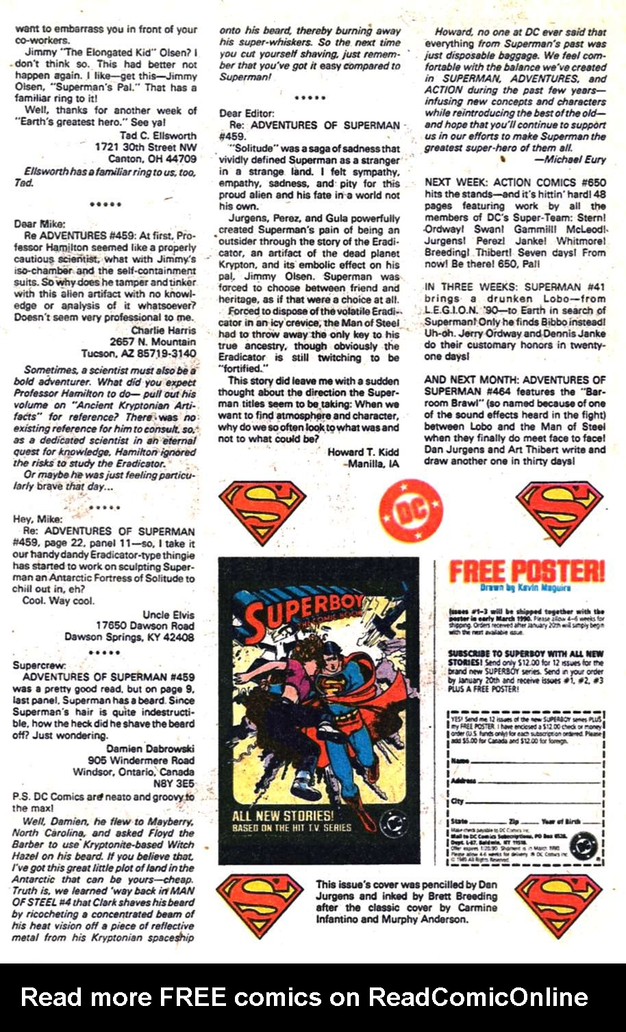 Read online Adventures of Superman (1987) comic -  Issue #463 - 24