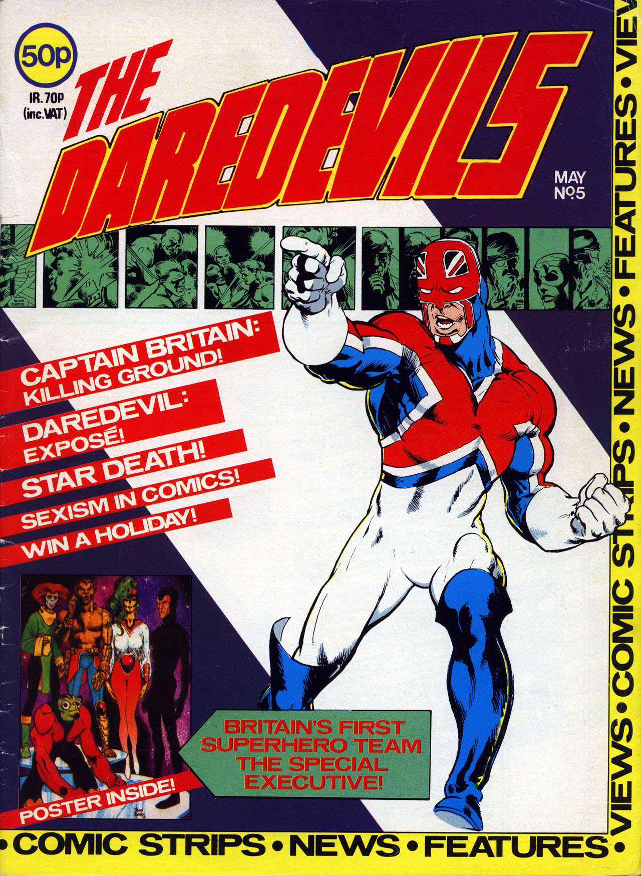 The Daredevils 5 Page 1