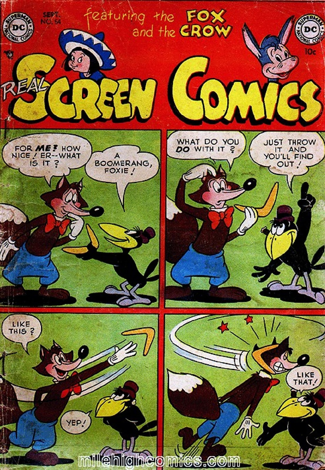 Real Screen Comics issue 54 - Page 1