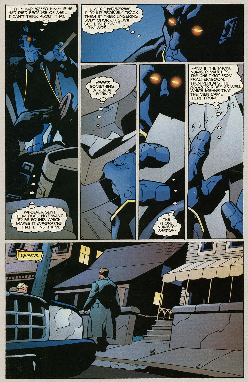 Read online Nightcrawler (2002) comic -  Issue #1 - 21