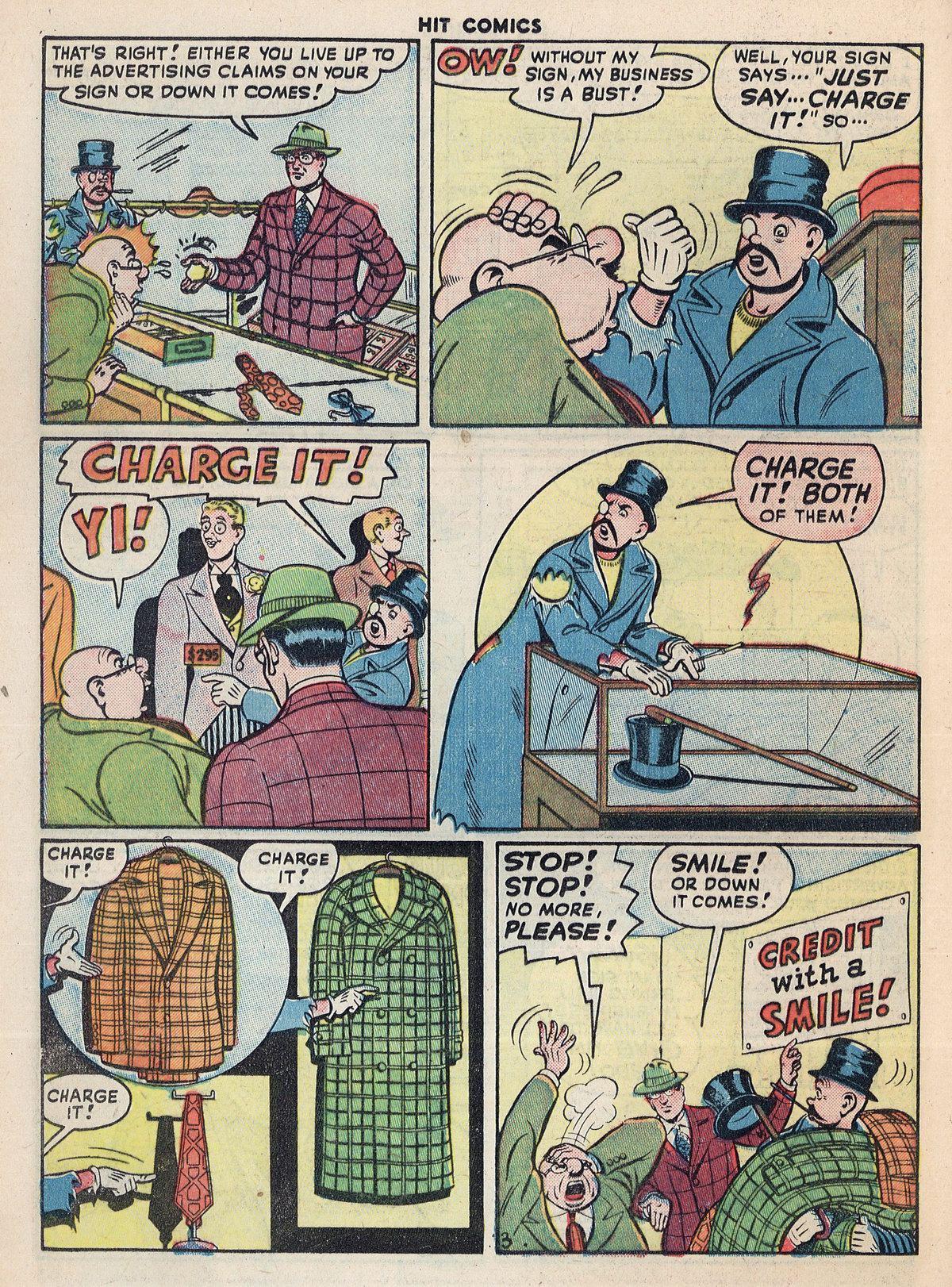 Read online Hit Comics comic -  Issue #55 - 34