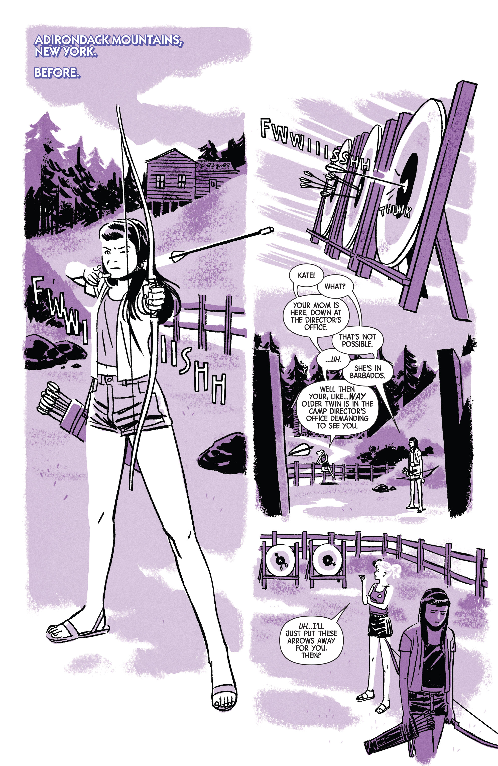 Read online Hawkeye (2016) comic -  Issue #7 - 11