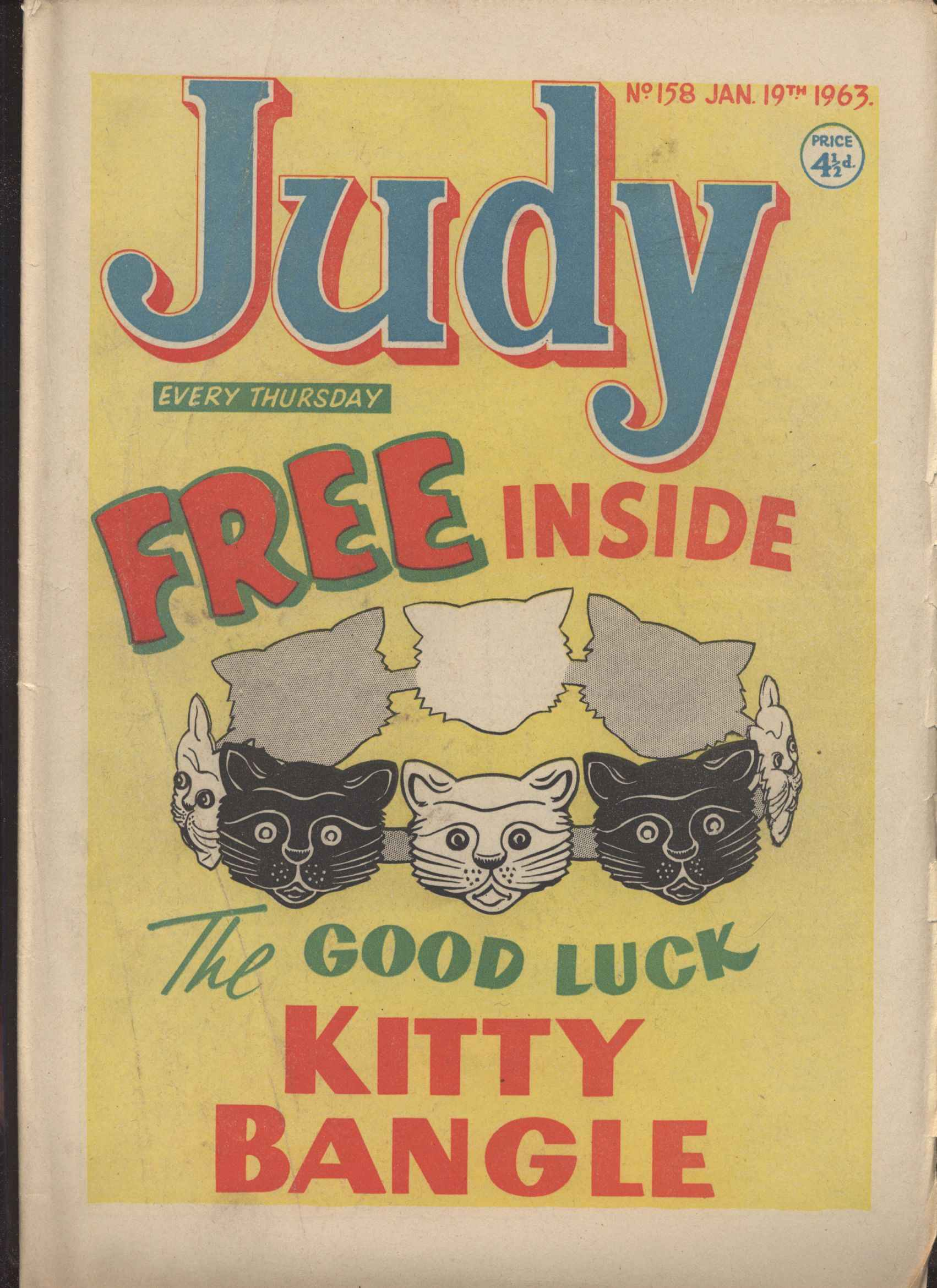 Read online Judy comic -  Issue #158 - 1