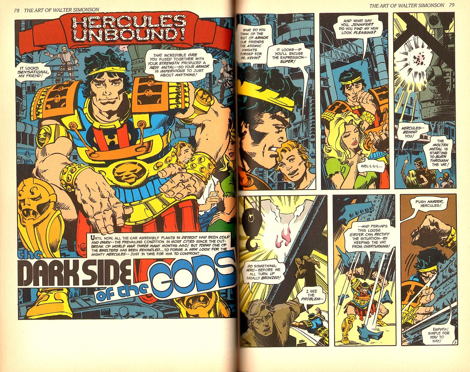 Read online The Art of Walter Simonson comic -  Issue # TPB - 41