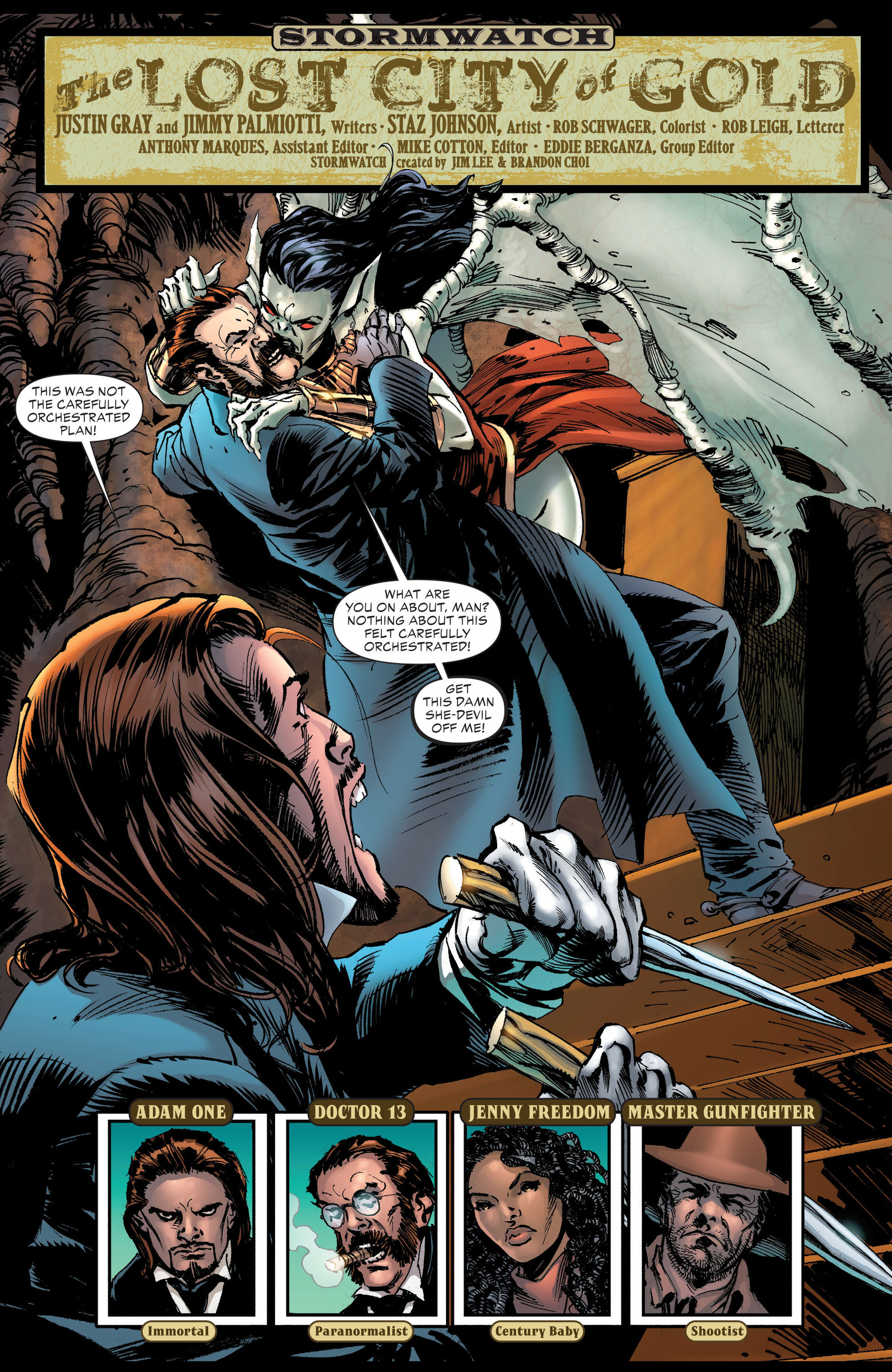 Read online All-Star Western (2011) comic -  Issue #21 - 21