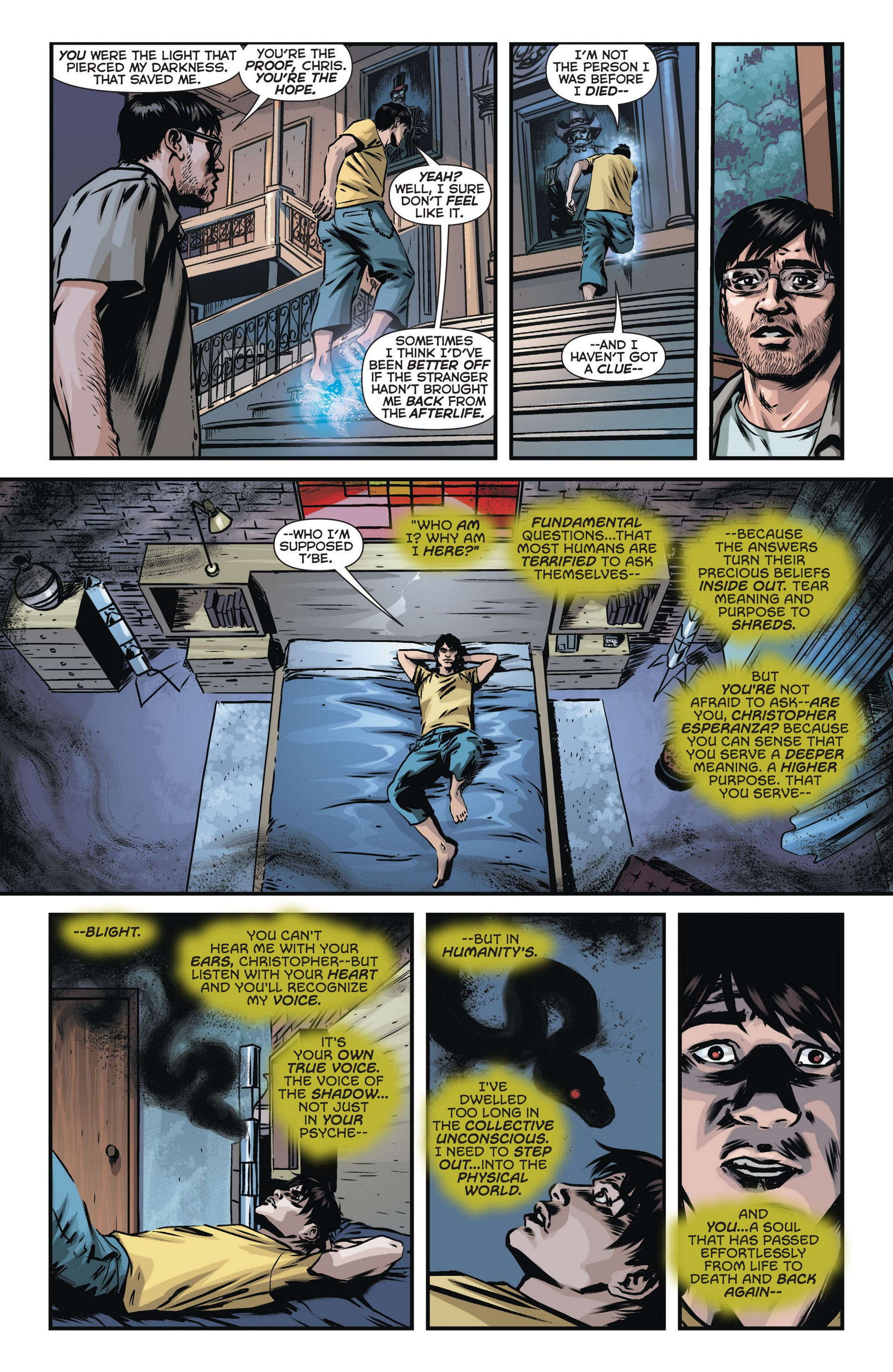 Read online Trinity of Sin: The Phantom Stranger comic -  Issue #14 - 13