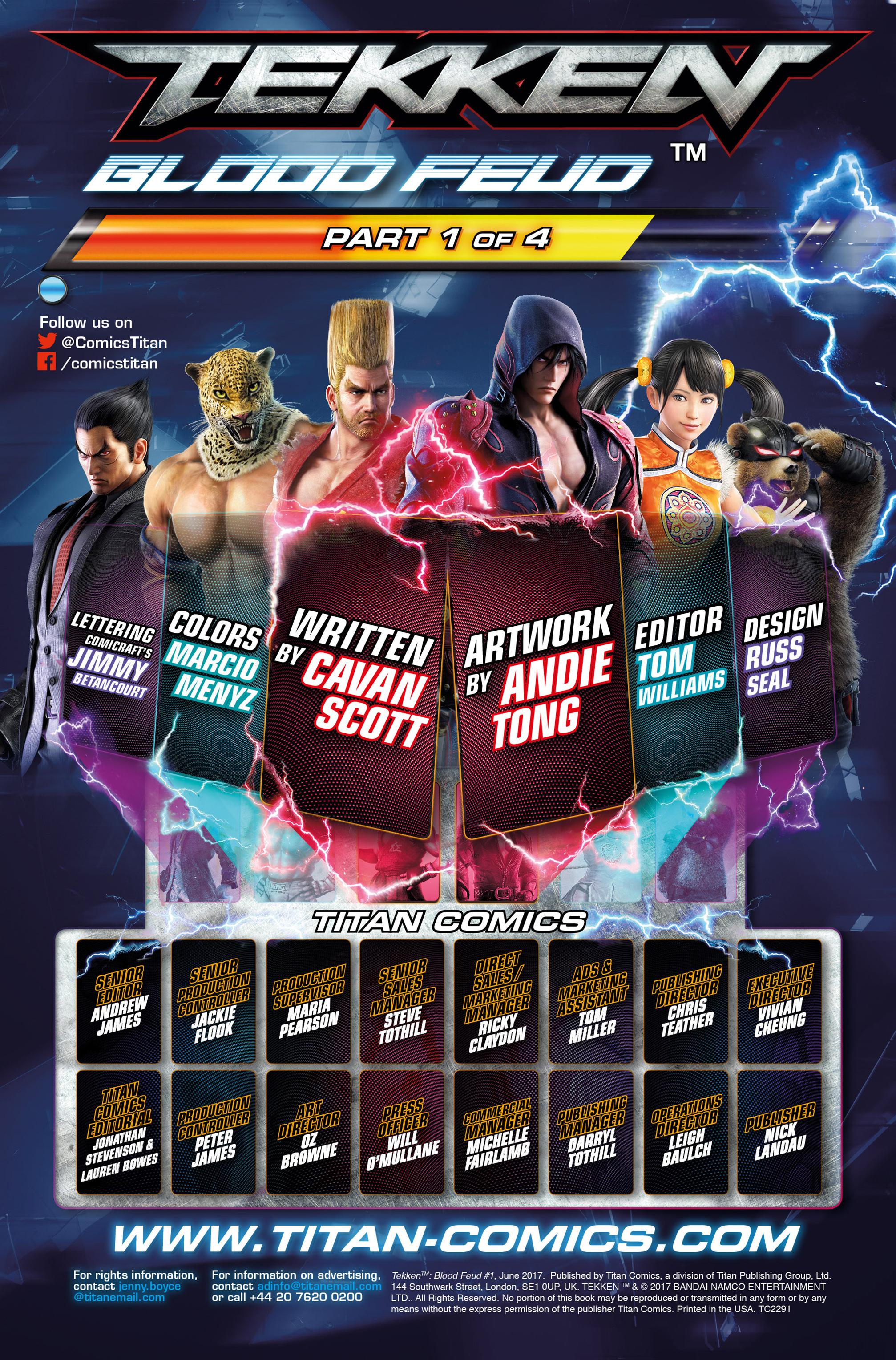Read online Tekken comic -  Issue #1 - 8