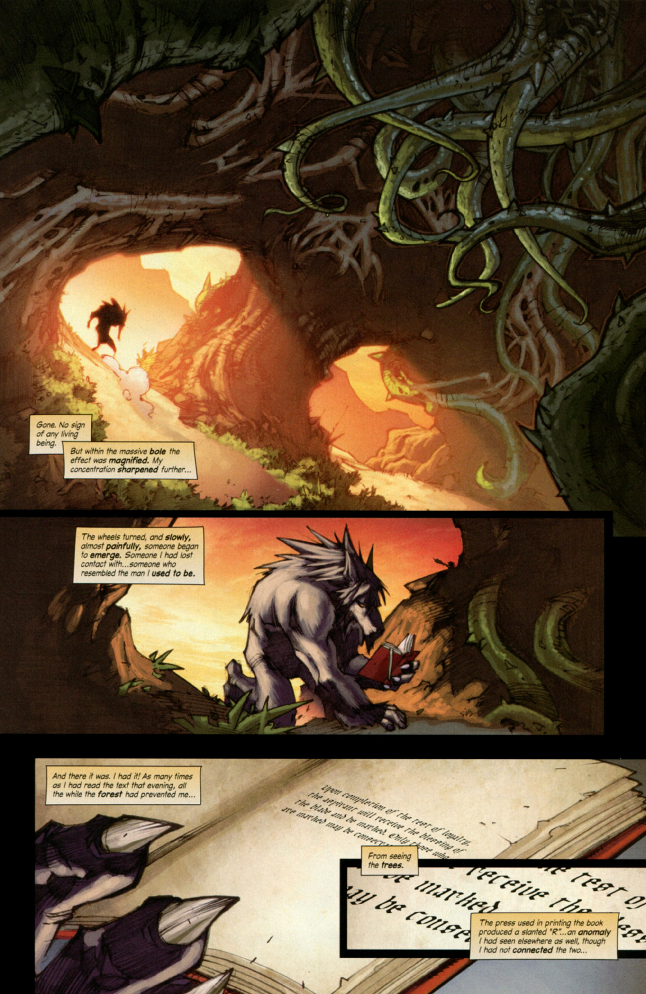 Read online World of Warcraft: Curse of the Worgen comic -  Issue #3 - 29