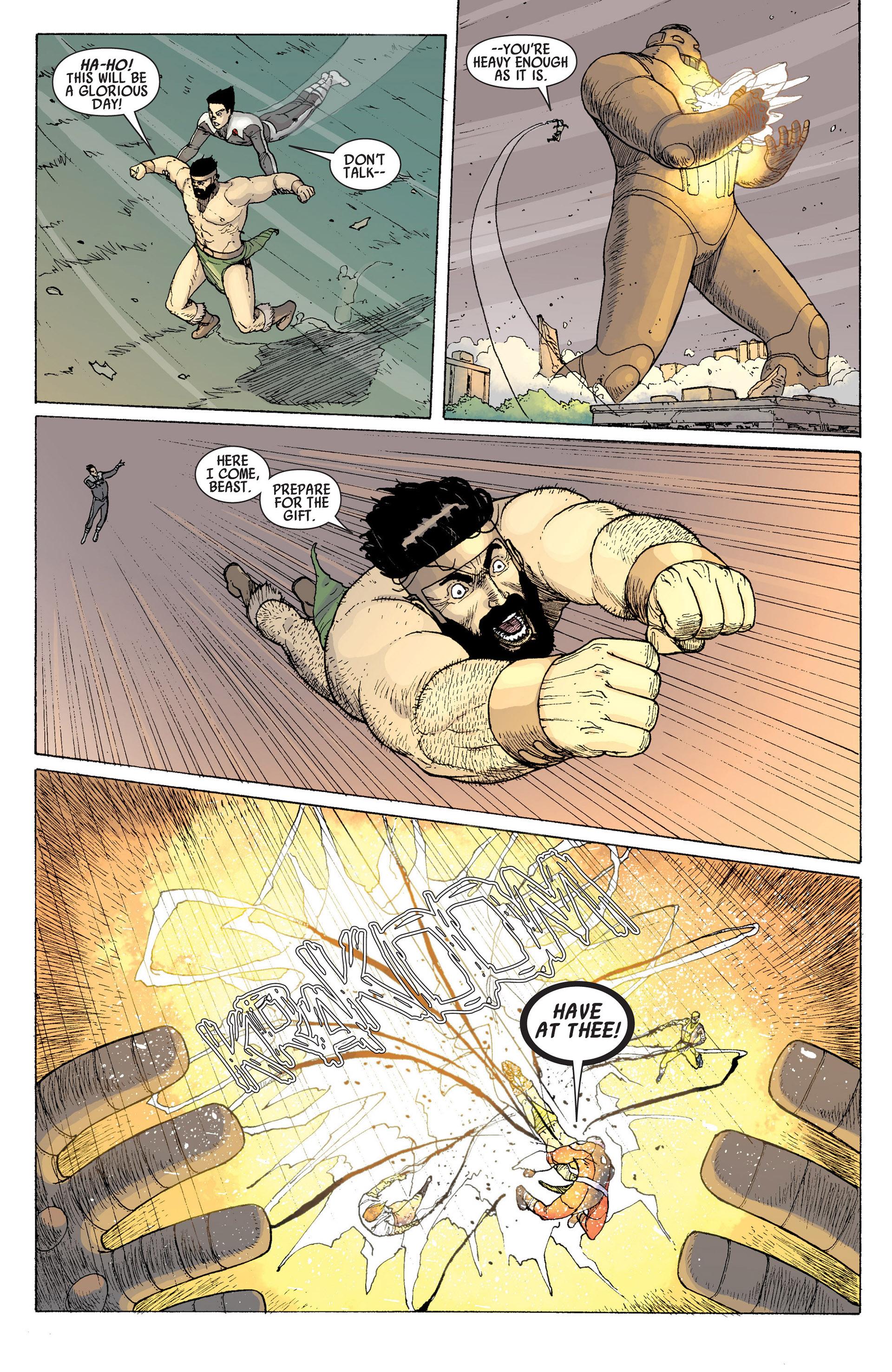Read online Age of Apocalypse (2012) comic -  Issue #14 - 10