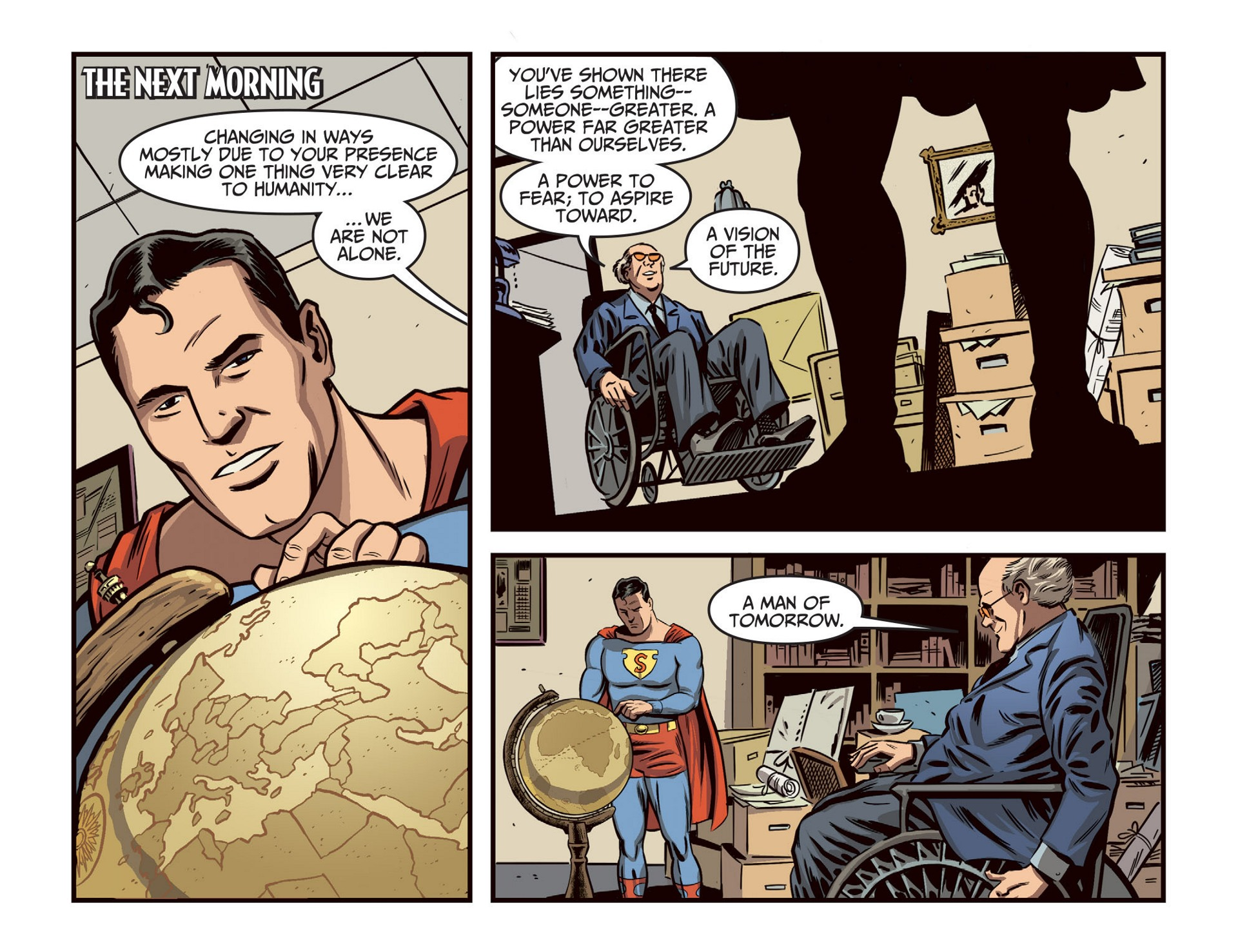 Read online Adventures of Superman [I] comic -  Issue #46 - 7