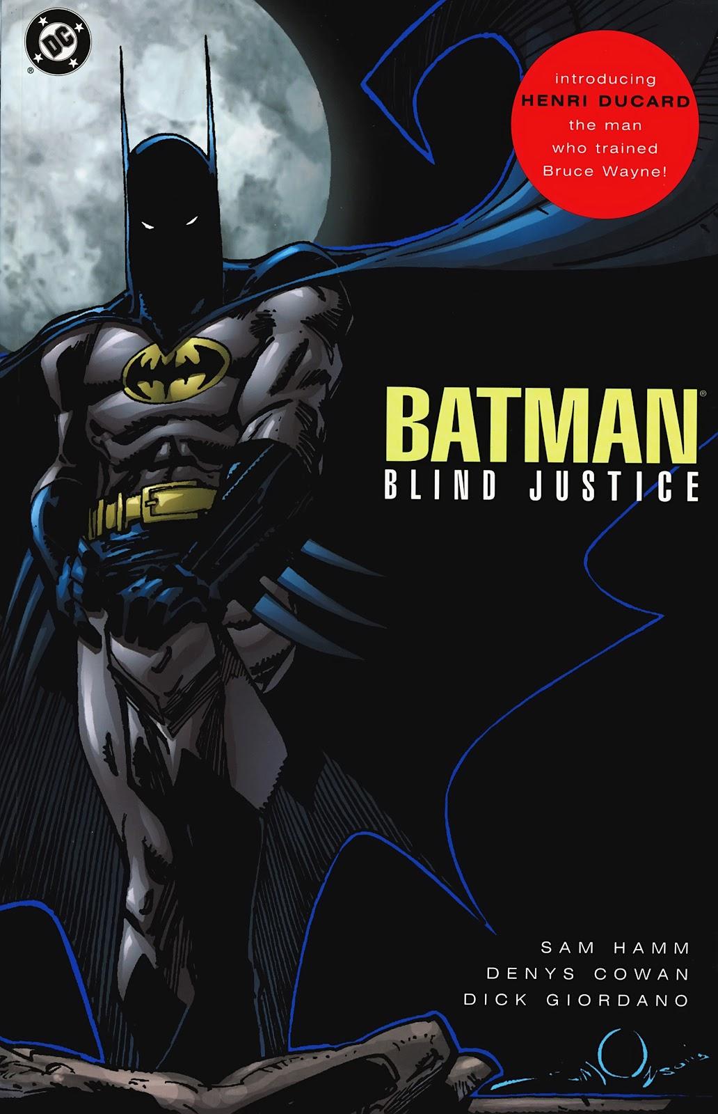 Read online Detective Comics (1937) comic -  Issue # _TPB Batman - Blind Justice (Part 1) - 1