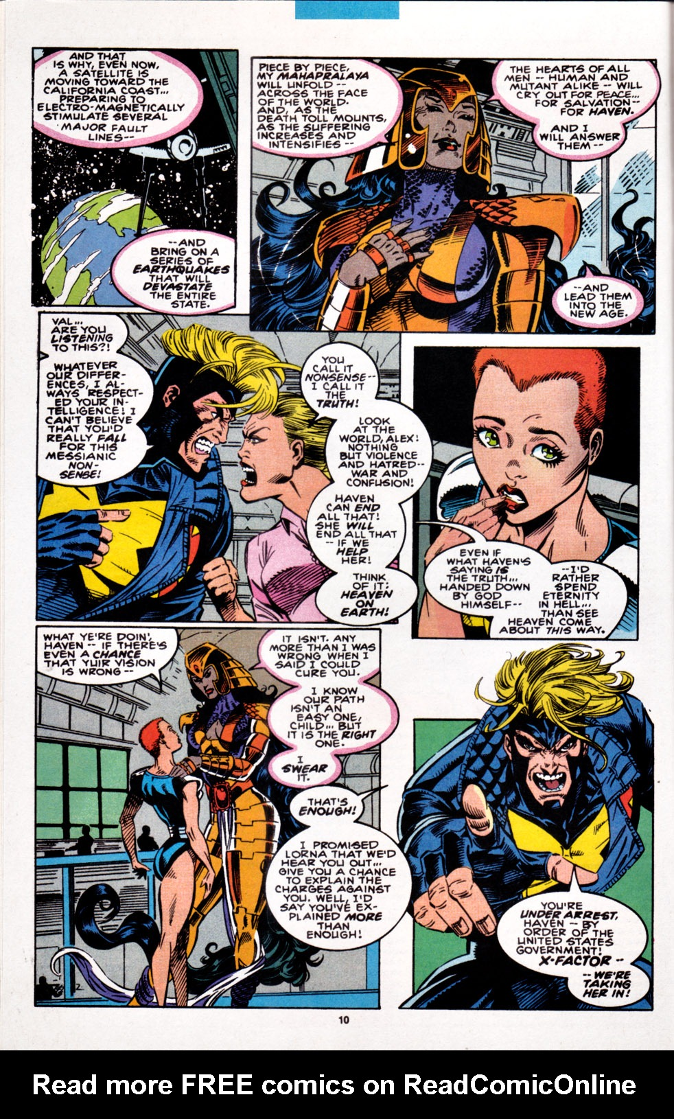 Read online X-Factor (1986) comic -  Issue #100 - 8