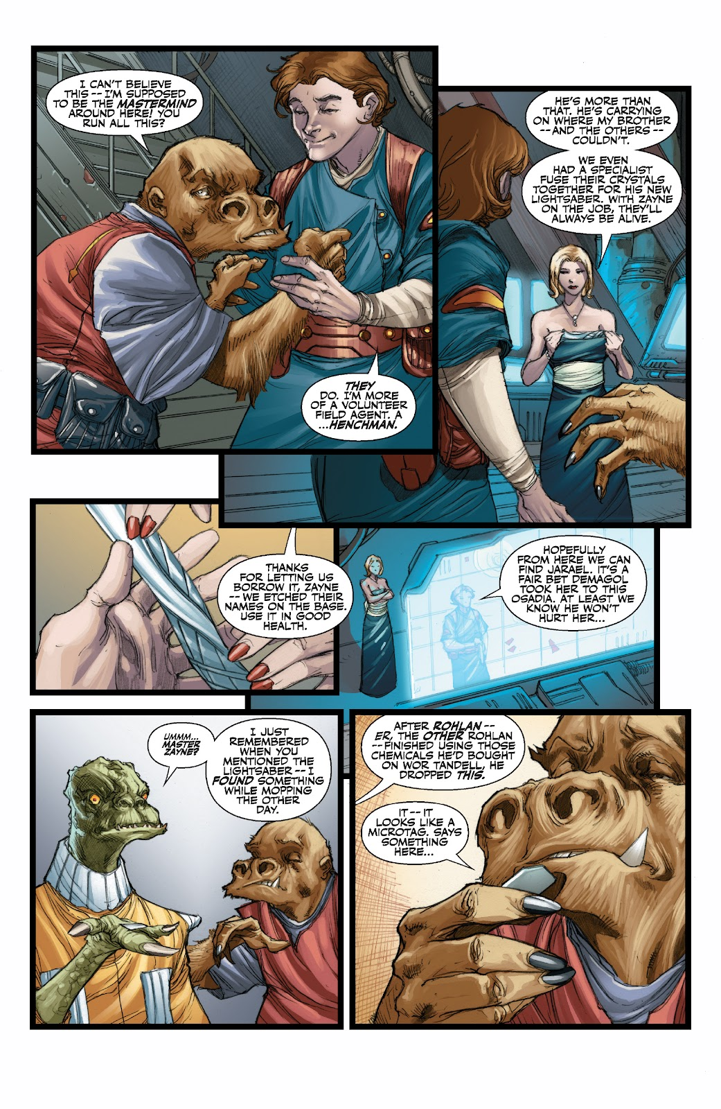 Read online Star Wars Legends: The Old Republic - Epic Collection comic -  Issue # TPB 3 (Part 3) - 53