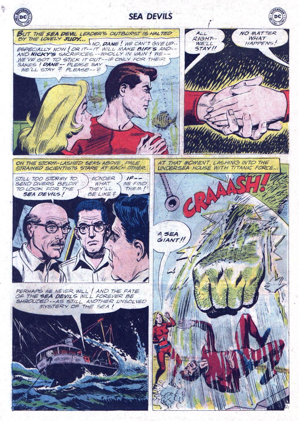 Read online Sea Devils comic -  Issue #11 - 28