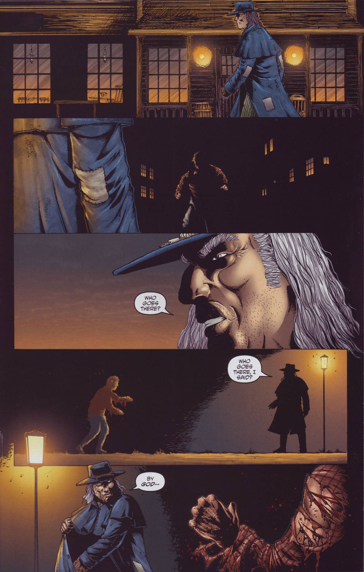 Read online Garth Ennis' Streets of Glory comic -  Issue #2 - 21