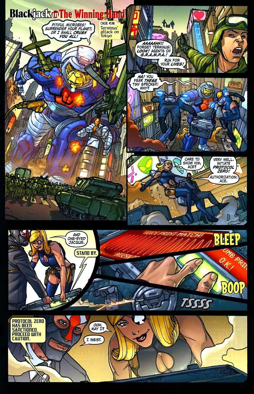 Read online Amazing Fantasy (2004) comic -  Issue #15 - 21