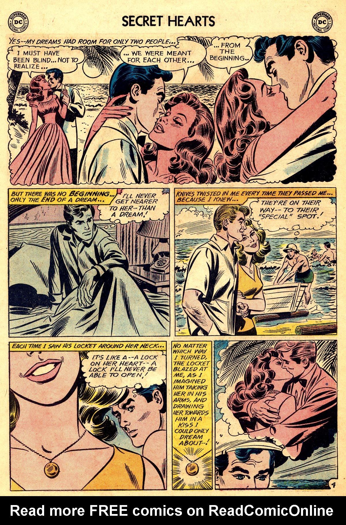 Read online Secret Hearts comic -  Issue #93 - 30