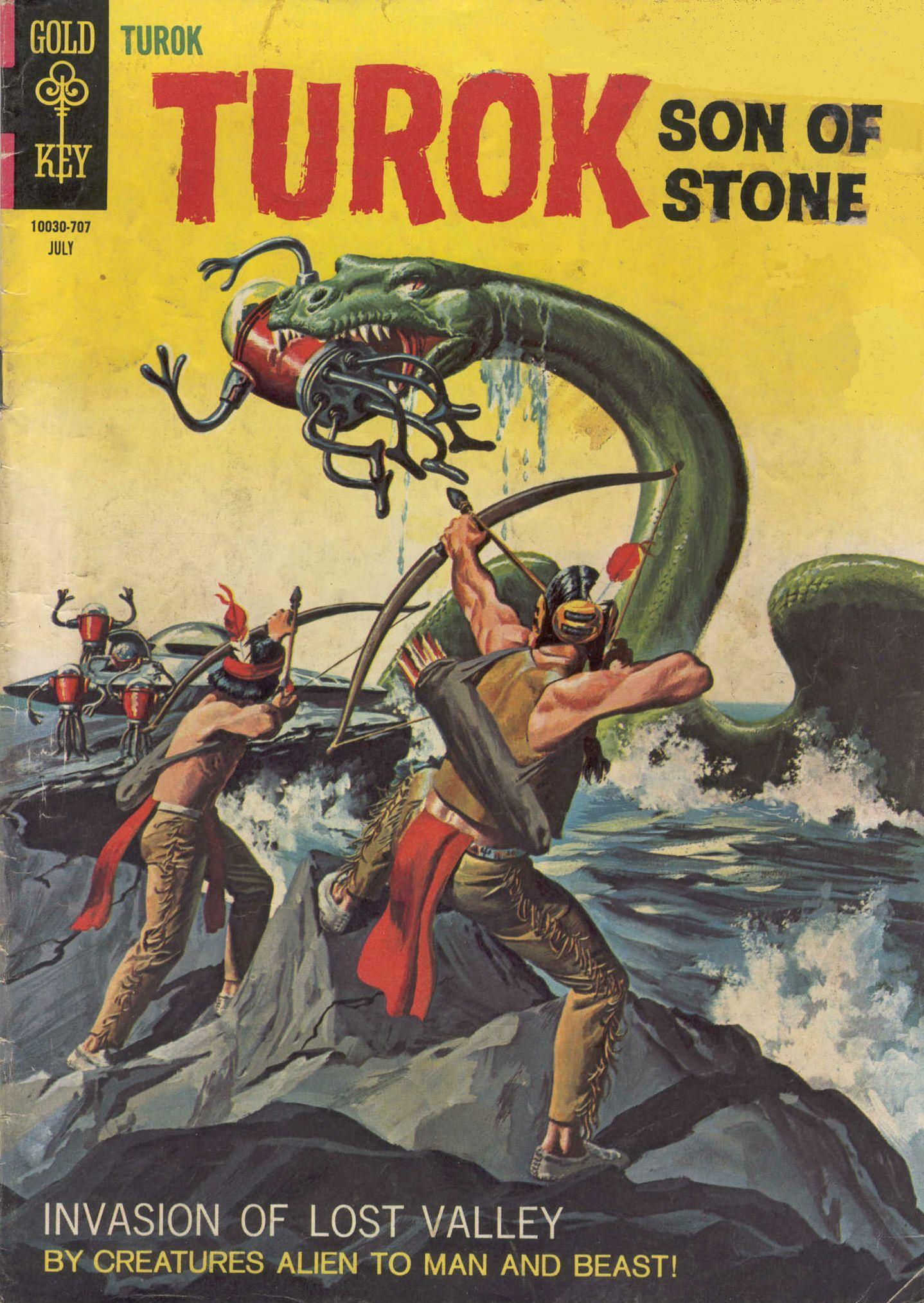 Read online Turok, Son of Stone comic -  Issue #58 - 1